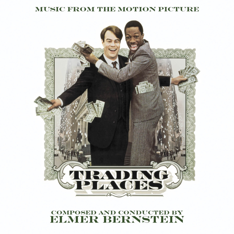 Elmer Bernstein S Trading Places Score Released Film Music
