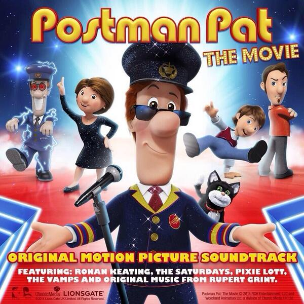Tags: Postman Pat: The Movie , Rupert Gregson-Williams , Soundtrack