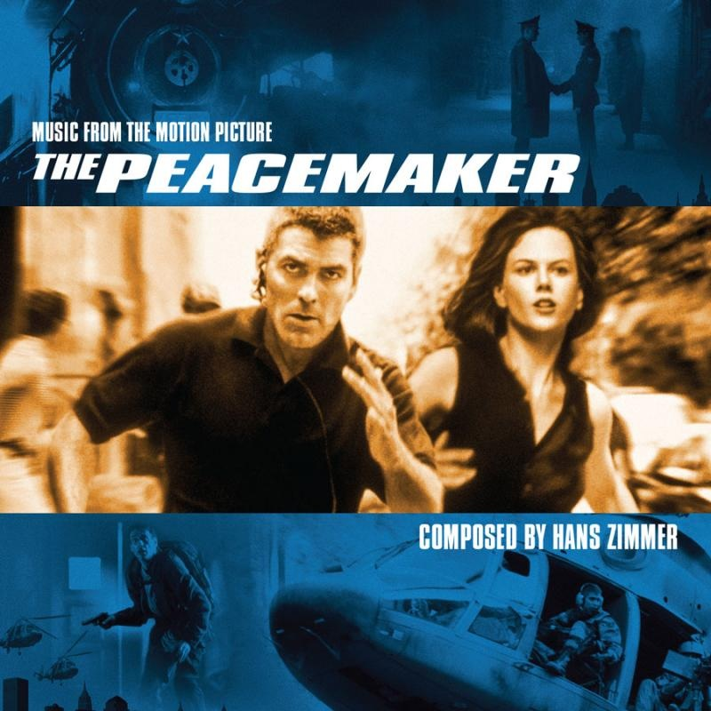 Expanded the peacemaker score by hans zimmer released for Zimmer soundtrack