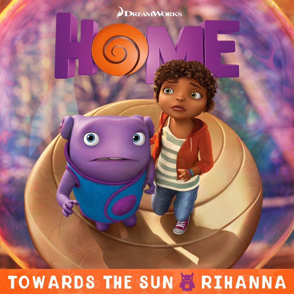Rihanna s towards the sun from dreamworks animation s for The sunhouse