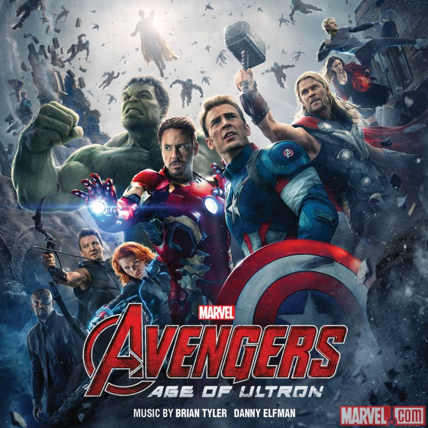 Image result for avengers age of ultron score