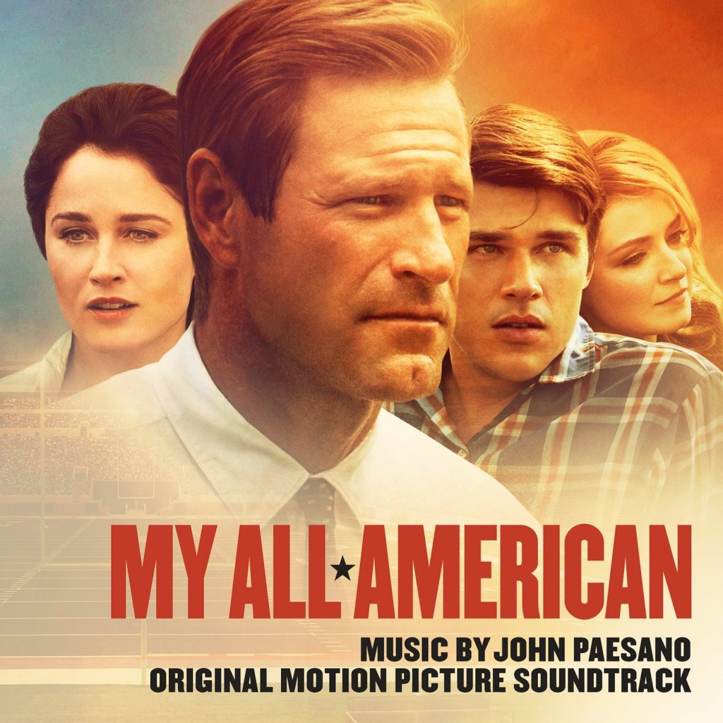 �my all american� soundtrack details film music reporter