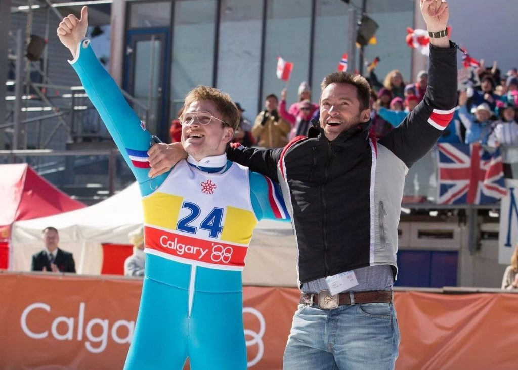 ... comedy drama eddie the eagle directed by dexter fletcher produced